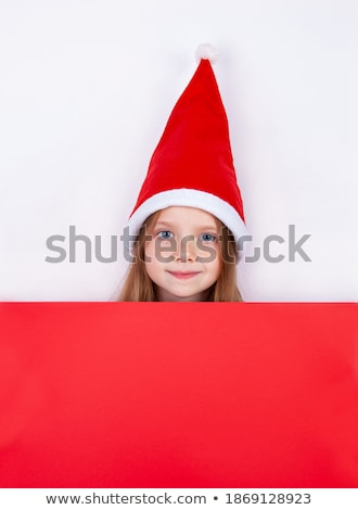 Christmas shopping cutie. Stock photo © lithian