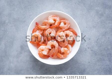 bowl of crustacean Stock photo © M-studio