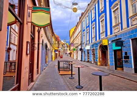 Загреб город центр квадратный Сток-фото © joyr