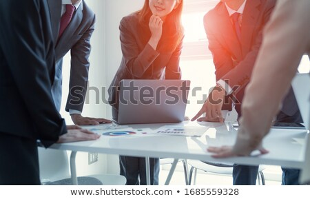 woman at office refreshed Stock photo © philipimage