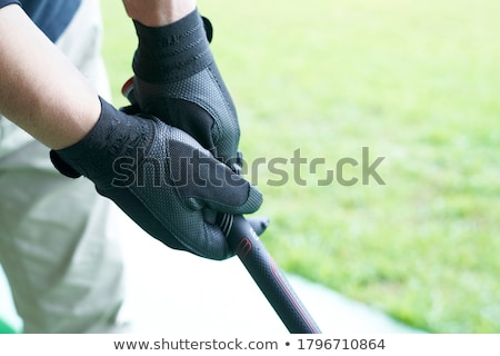 Golf markolás golfozó terjedelem Stock fotó © vanessavr