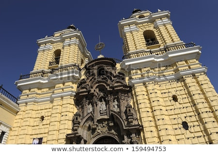 San Francisco monastery, central Lima, Peru Stock photo © xura