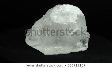 white crystal mineral  Stock photo © jonnysek