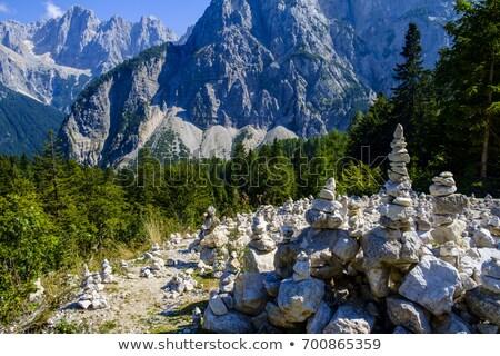 vue · alpes · panoramique · une - photo stock © 1Tomm