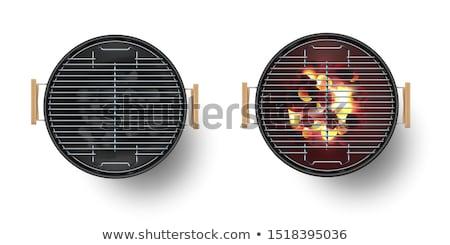 Barbecue Brazier Fire Stock photo © zhekos