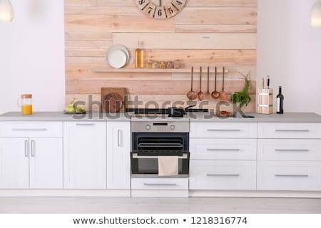 Built-in oven Stock photo © toocan
