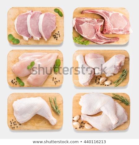 Stok fotoğraf: Barbekü · ayarlamak · mutfak · araçları · beyaz
