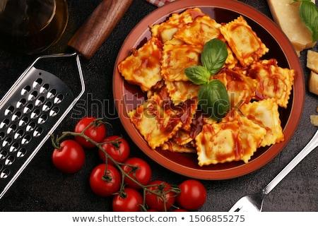 Beef ravioli Stock photo © MSPhotographic