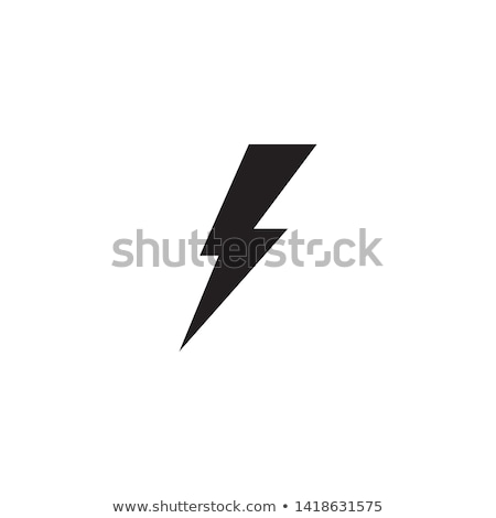Flash Chmura żółty wektora ikona projektu Zdjęcia stock © rizwanali3d
