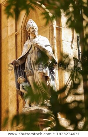 Szűz keresztény katolikus vallás szent ikon Stock fotó © lunamarina