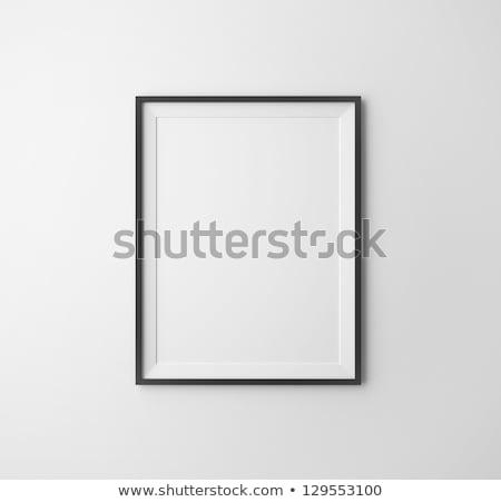 черный · кадры · стены · белый · строительство · искусства - Сток-фото © Paha_L