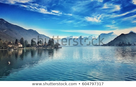 lake panorama from annecy stock photo © radoma