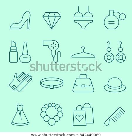 swimsuit for women line icon stock photo © rastudio