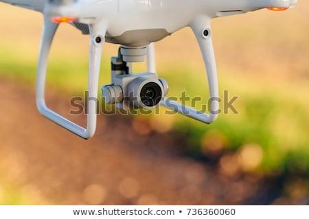 icon · geïsoleerd · antenne · voertuig · witte · vliegtuigen - stockfoto © djdarkflower