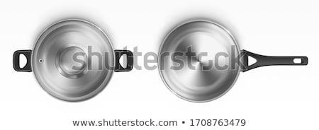 банка обрабатывать нержавеющая сталь черный приготовления современных Сток-фото © Digifoodstock