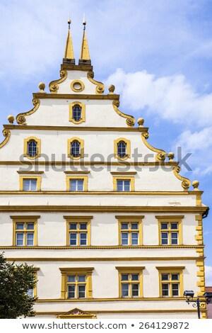 huizen · rivier · Duitsland · pittoreske · historisch · centrum - stockfoto © meinzahn