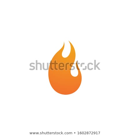 résumé · flamme · conception · de · logo · Creative · feu - photo stock © djdarkflower