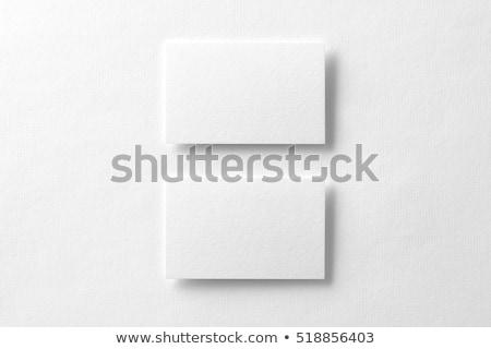 Empty Horizontal Cards Mockup Stock photo © Anna_leni