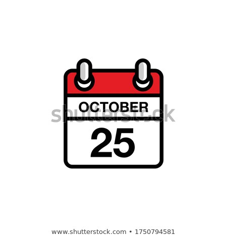 25th October Stock photo © Oakozhan