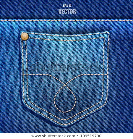 pocket of jeans with a blank Stock photo © OleksandrO