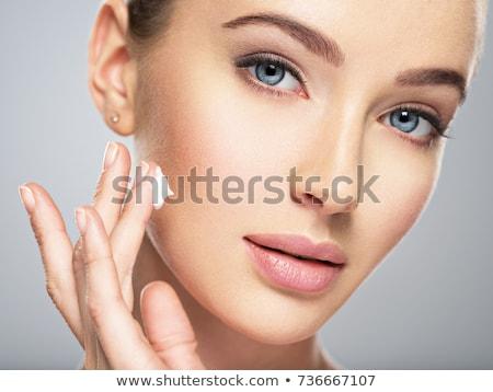 blonde · vrouw · groot · sexy · mode · schoonheid - stockfoto © yatsenko