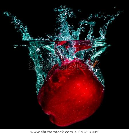 apple falling to water stock photo © petrmalyshev