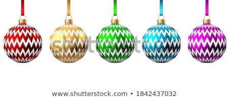 simples · vetor · verde · arco · bugiganga - foto stock © robuart