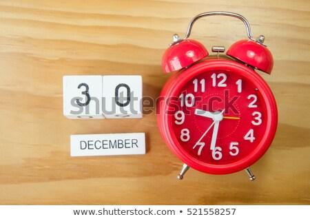 Aralık takvim cumhuriyet gün Stok fotoğraf © Oakozhan
