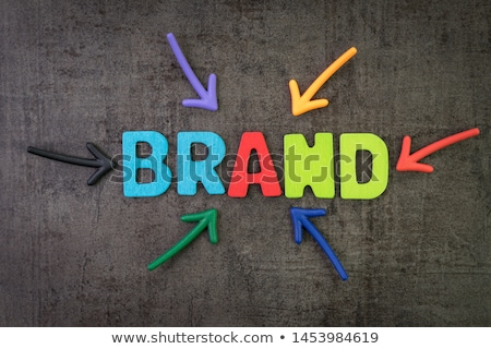 Chalkboard on the Office Wall with Internet Branding Concept. 3D Illustration. Stock photo © tashatuvango