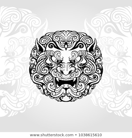 Stock photo: Chinese Foo dog