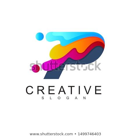 Creative капли воды дизайн логотипа марка личности компания Сток-фото © DavidArts
