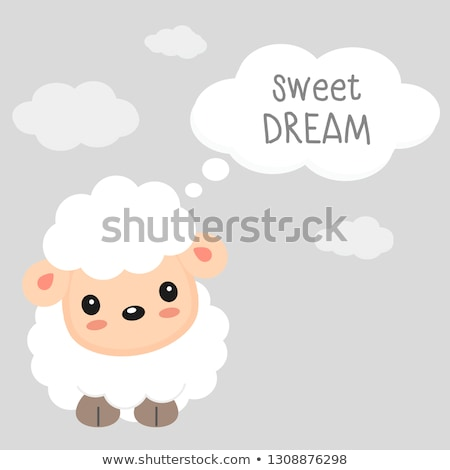 Sweet little lamb Stock photo © Zela