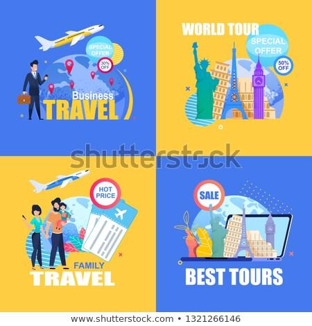 özel seyahat bagaj aile iş yaz Stok fotoğraf © place4design