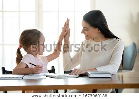 Дать · письме · женщину · домой - Сток-фото © is2