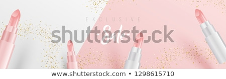 Skin Care Makeup Web Vector Illustration Poster Stock photo © robuart