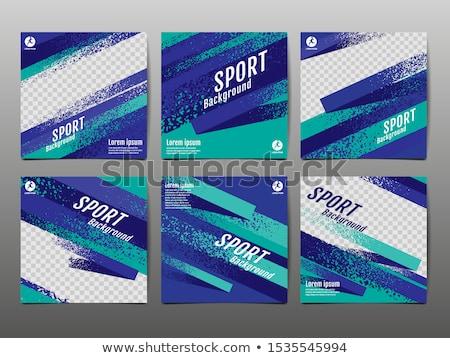 Soccer Sport Banner Stock photo © alexaldo
