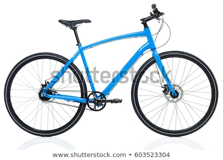New blue bicycle Stock photo © vlad_star