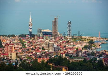 Batumi moody cityscape, Georgia Stock photo © joyr