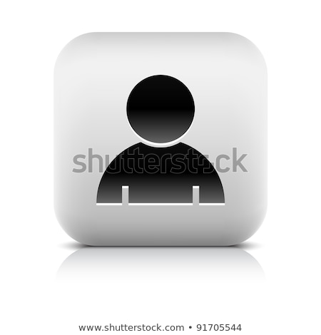 Social media user icon. Avatar user with gradient. With a sign confirming the authenticity of the us Stock photo © AisberG