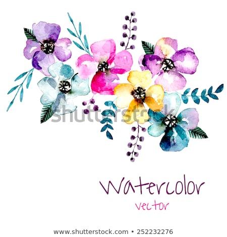 primavera · quadro · texto · projeto · sol · natureza - foto stock © articular