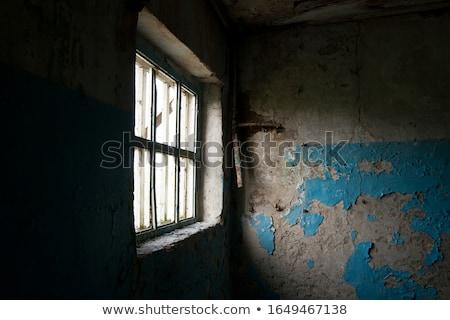 fachada · casa · velha · janela · parede · abstrato · urbano - foto stock © manfredxy