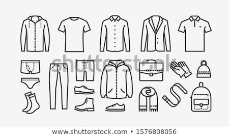 krótki · rękaw · wybór · różny · kolory - zdjęcia stock © robuart