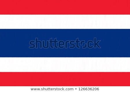 Thailand vlag muur illustratie textuur achtergrond Stockfoto © colematt