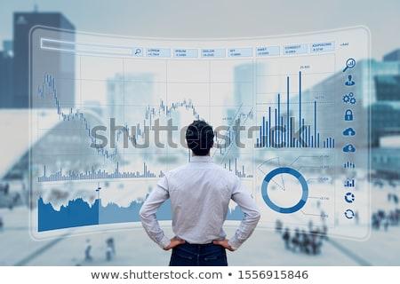 üzlet pénzügy beruházás stratégia pénzügyi diagram Stock fotó © cifotart