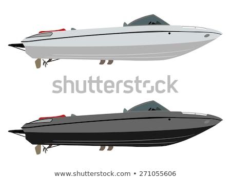 Prazer barco mar mar vermelho Egito água Foto stock © Givaga
