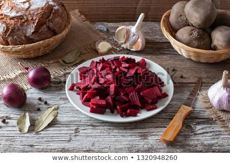rouge · autre · ingrédients · bois · santé - photo stock © madeleine_steinbach