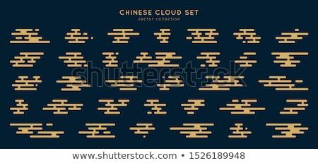 japanese style cloud stock photo © blue_daemon