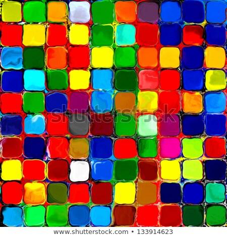 抽象的な 虹 色 黒 テクスチャ 光 ストックフォト © cidepix