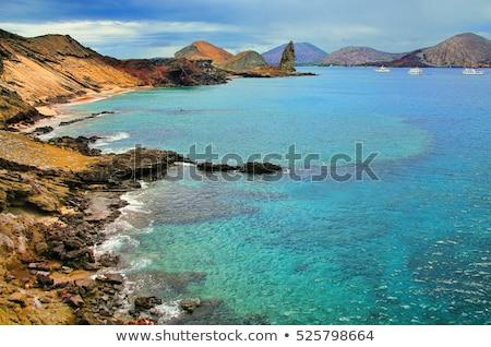 Turísticos Santiago isla rock famoso Foto stock © Maridav