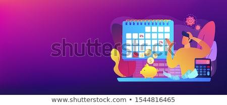 Early payment discount concept banner header Stock photo © RAStudio